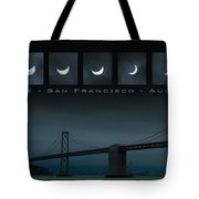 Nine Phases Of An Eclipse 2 Tote Bag