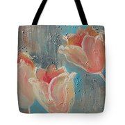 Nine Tulips Tote Bag