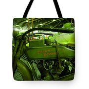Nineteen Eighteen Harley Davidson Tote Bag