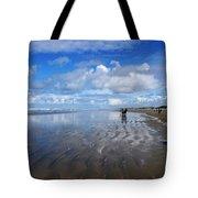 Ninety Mile Beach New Zealand Tote Bag
