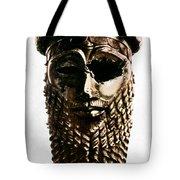 Nineveh: Bronze Head Tote Bag