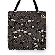Ninja Faces Tote Bag