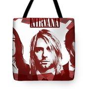 Nirvana Tribute Tote Bag