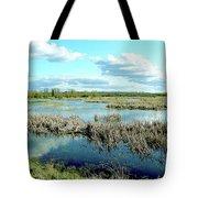 Nisqually Marsh Tote Bag