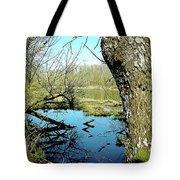 Nisqually Pond Tote Bag