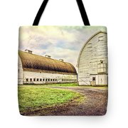 Nisqually Twin Barns Tote Bag