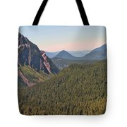 Nisqually Valley In Color Tote Bag