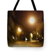 Nite Walk Tote Bag
