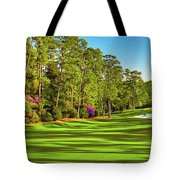 No. 10 Camellia 495 Yards Par 4 Tote Bag