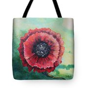No. 13 Spring And Summer Floral Series Tote Bag