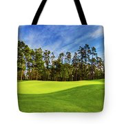 No. 14 Chinese Fir 440 Yards Par 4 Tote Bag