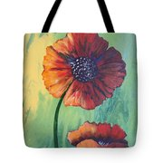 No. 17 Spring And Summer Floral Series Tote Bag