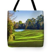 No. 5 Magnolia 455 Yards  Par 4 Tote Bag