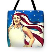 No Chains For Lady Liberty Tote Bag