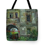 No Entrance Tote Bag