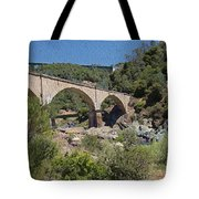 No Hands Bridge Tote Bag