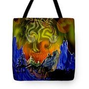 No Intrusions Tote Bag