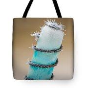 Hoar Frost Crystal Tote Bag