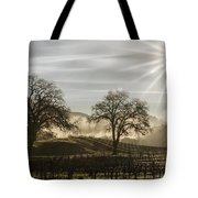 Wine Country Sunrise Tote Bag