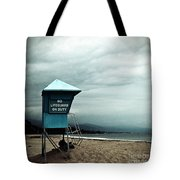 Santa Barbara Life Guard Tote Bag