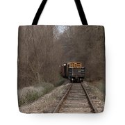 No Looking Back Tote Bag