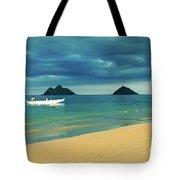 No Man Is An Island Tote Bag
