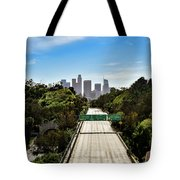 No More Cars In Los Angeles. Tote Bag