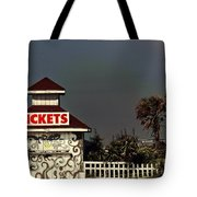 No More Tickets Tote Bag