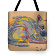 No Name Cat Tote Bag