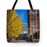 No One Occupying Wall Street Tote Bag