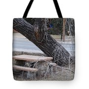 No One Sits Here Tote Bag