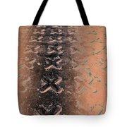 No O's - Negative In Copper Tote Bag