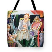 No Peeking Tote Bag