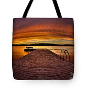 No Running Tote Bag by Mark Miller