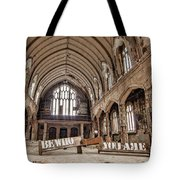 No Sanctuary Tote Bag