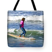 No Stress Surfing Tote Bag
