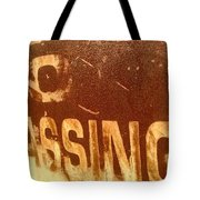 No Trespassing Tote Bag