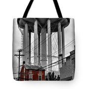 No Turn On Red, Frederick, Maryland, 2015 Tote Bag