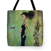 No Voice Above A Whisper Tote Bag