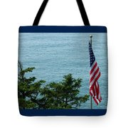 No Wind For Flag Tote Bag
