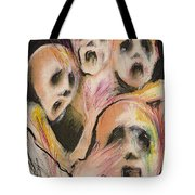 No Words Tote Bag