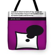 No007 My Finnegans Wake Book Icon Poster Tote Bag