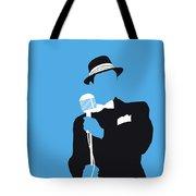 No059 My Sinatra Minimal Music Poster Tote Bag