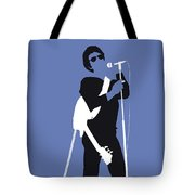 No068 My Lou Reed Minimal Music Poster Tote Bag