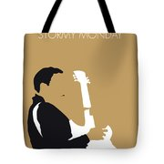 No070 My Tbone Walker Minimal Music Poster Tote Bag