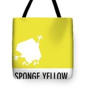 No10 My Minimal Color Code Poster Spongebob Tote Bag