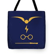 No101 My Harry Potter Minimal Movie Poster Tote Bag