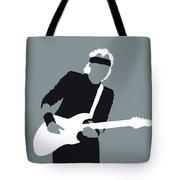 No107 My Mark Knopfler Minimal Music Poster Tote Bag