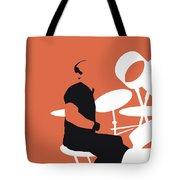 No163 My Phil Collins Minimal Music Poster Tote Bag