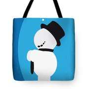 No172 My Knick Knack Minimal Movie Poster Tote Bag